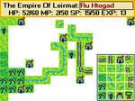Never Finished Atari 8-bit RPG Map