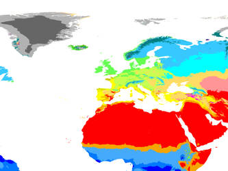 World Climate 2071-2100 1 km: Heartland Hexasphere by GrantExploit
