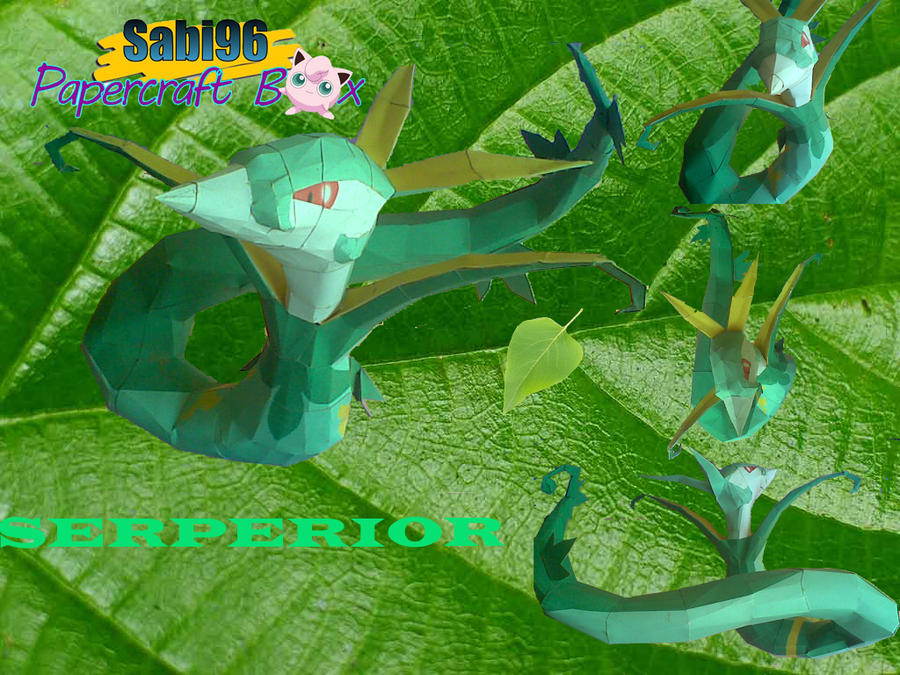 SERPERIOR PAPERCRAFT by aerizu