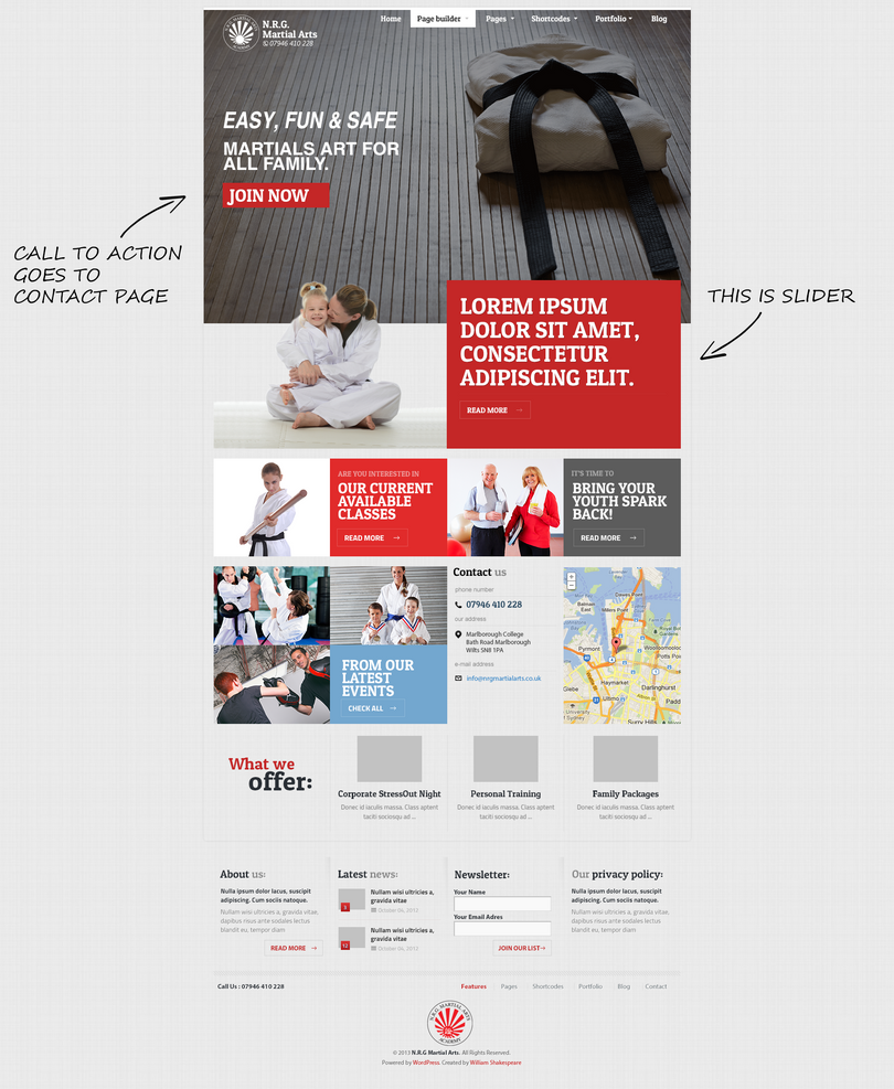 Wordpress theme edit martial arts by eminaks on deviantart for Editing wordpress templates