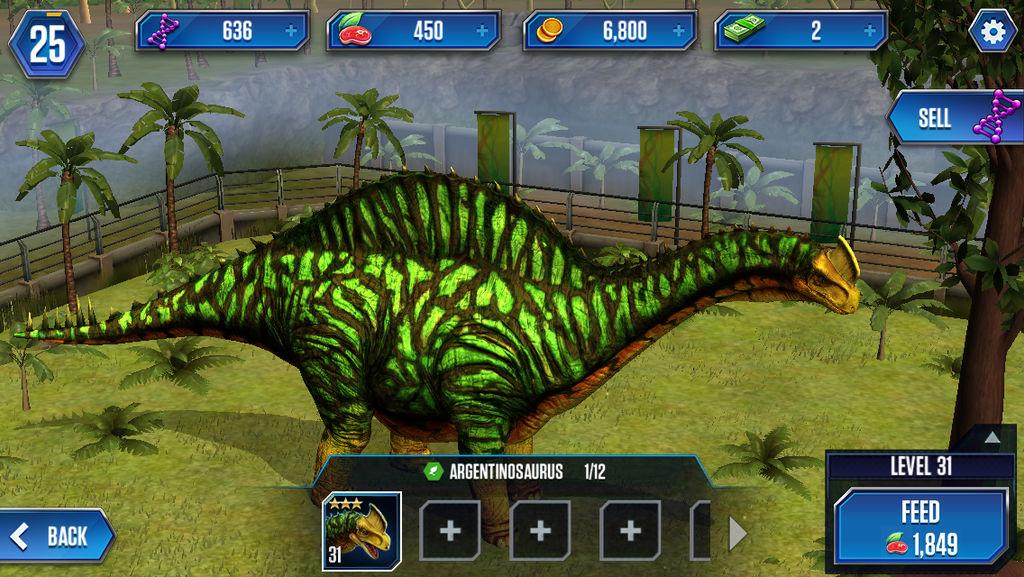 Jwtg Level 31 Argentinosaurus By Marioandsonicfan19 On Deviantart