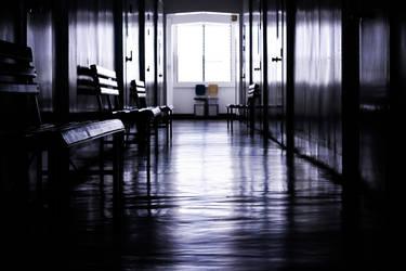 Hallways are scary.