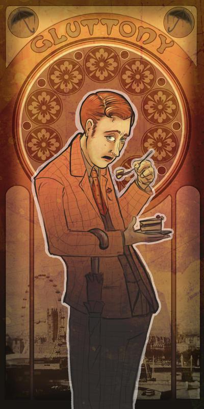 Gluttony - Mycroft by kahahuna