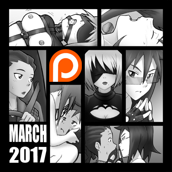 MARCH Patreon 2017 Posts by StereoscopeComics