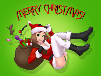 Merry Christmas!... by StereoscopeComics