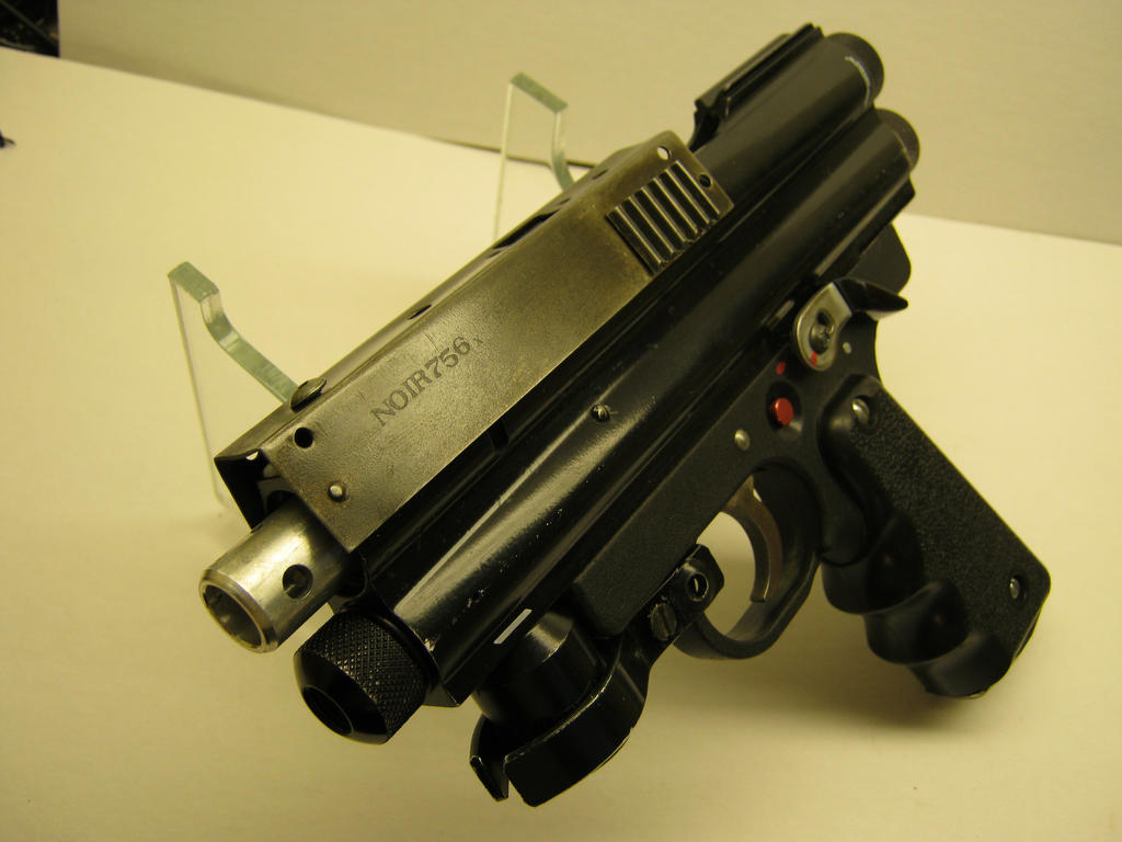 CYBERPUNK HAND GUN by ProperRocket