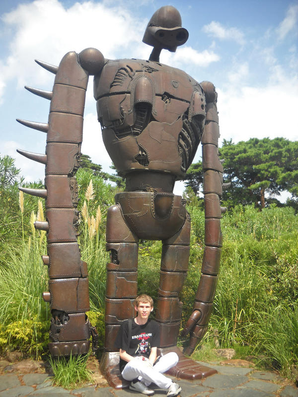 Ghibli D Exhibition : Ghibli museum laputa robot by mushroomraccoon on deviantart