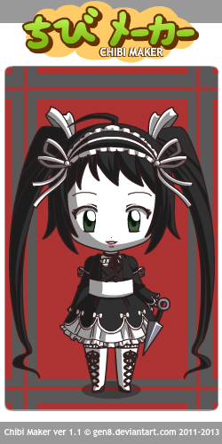 Goth Loli Scylla by Xanness