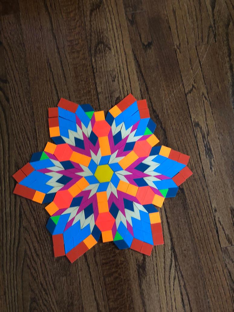rainbow star by Xanness