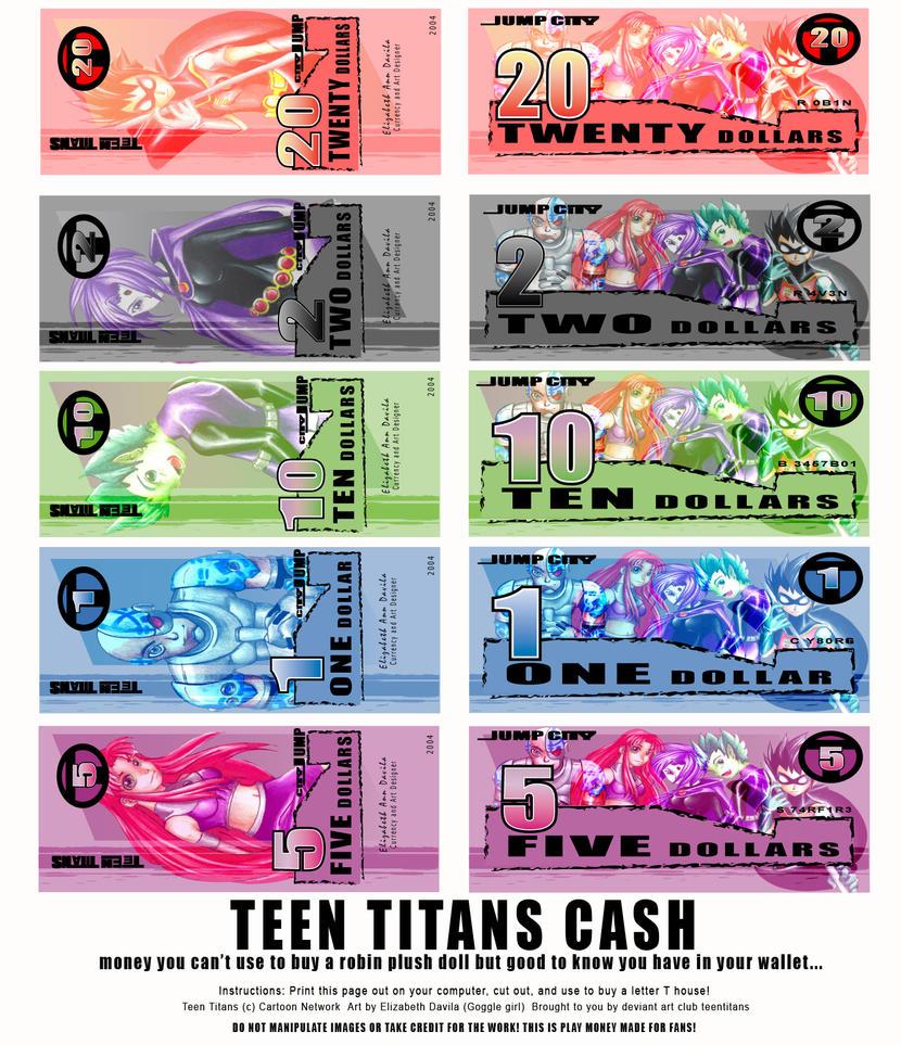 Teen Titans CASH by teentitans