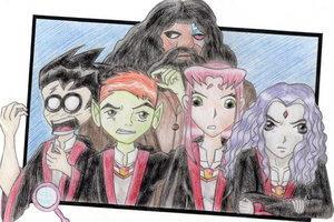 Magical world by Lynz25 by teentitans