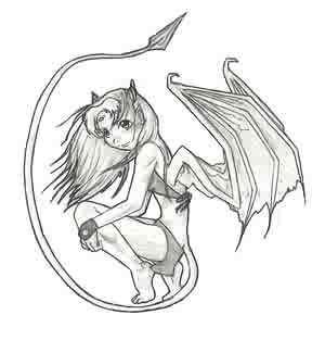 Demon Starfire by Darkwings9 by teentitans