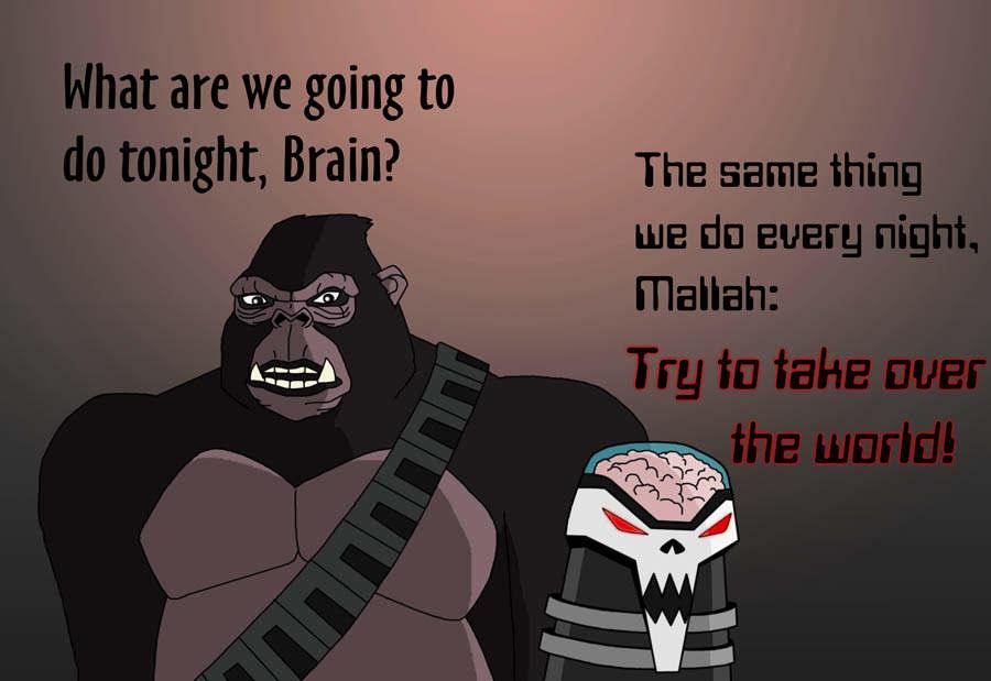 Teen Titans Brain 4