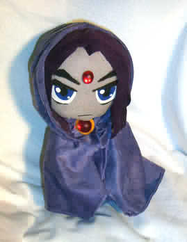 Teen Titans Raven Plush by teentitans