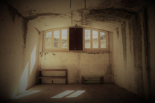 Inside the Old Fort.