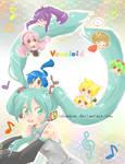 VOCALIOD: Miku with chibi friends