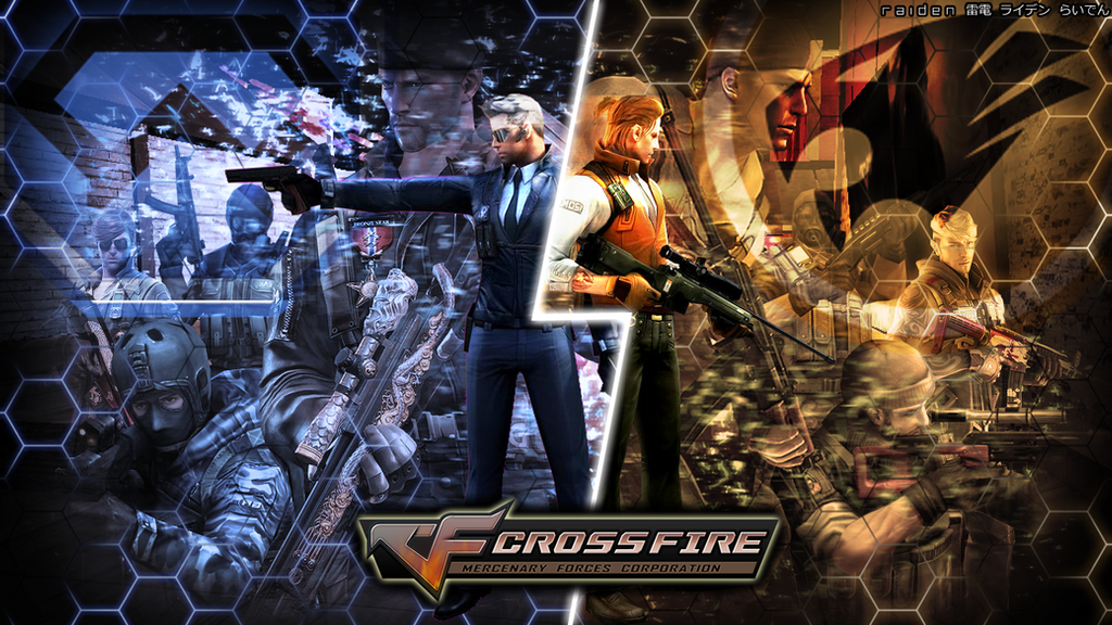 Crossfire wallpaper rivalling factions by - Crossfire wallpaper ...