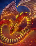 Chinese dragon by Negola