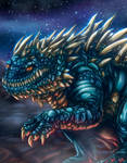 Space dragon by Negola
