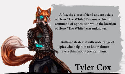 Additional Protagonist - Tyler Cox by Negola