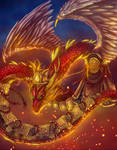 Chinese dragon Armored