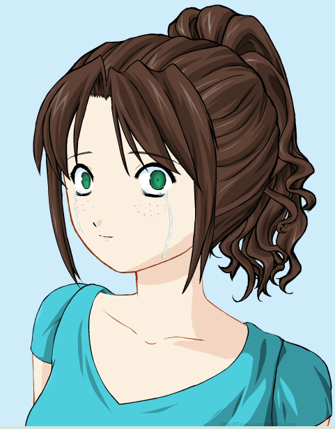 Me as a anime character by Morrigan1235