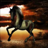 HEE Horse Avatar - Old Fashioned Lakeside by EndlessOptimism