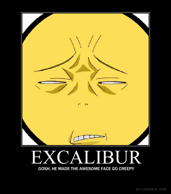 EXCALIBUR FROM SOUL EATER IS   by shortinprettyExcalibur Soul Eater Fool