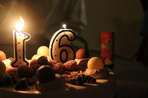 my birthday cake -_- by Sunaf