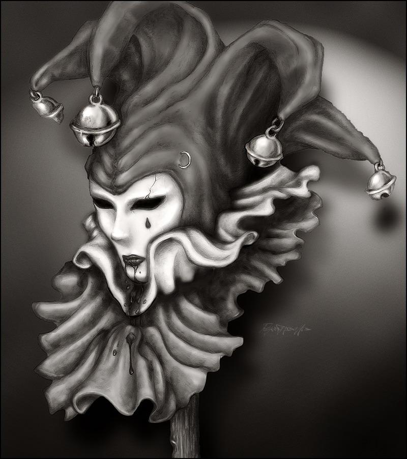 Dark Harlequin by Intactus