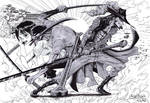 Zorro versus Mihawk