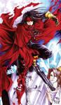 Demon in red Cape