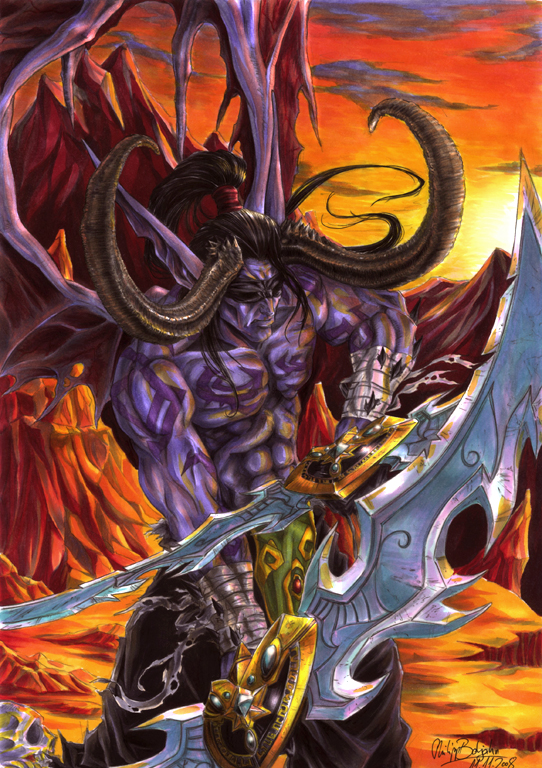 Illidan Stormrage by Abbadon82