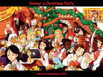 Disneys Christmas Party by Abbadon82