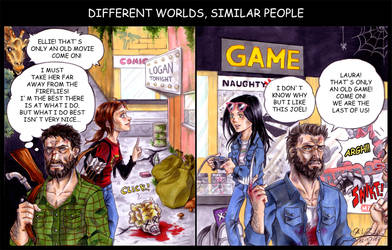 Different Worlds Similar People