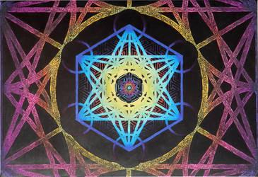 Metatron's Cube Cubed by PAsuarez