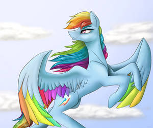 Rainbow Dash by iSeppe