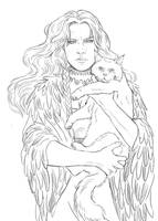 Freja, the norse godess of love, magic and death