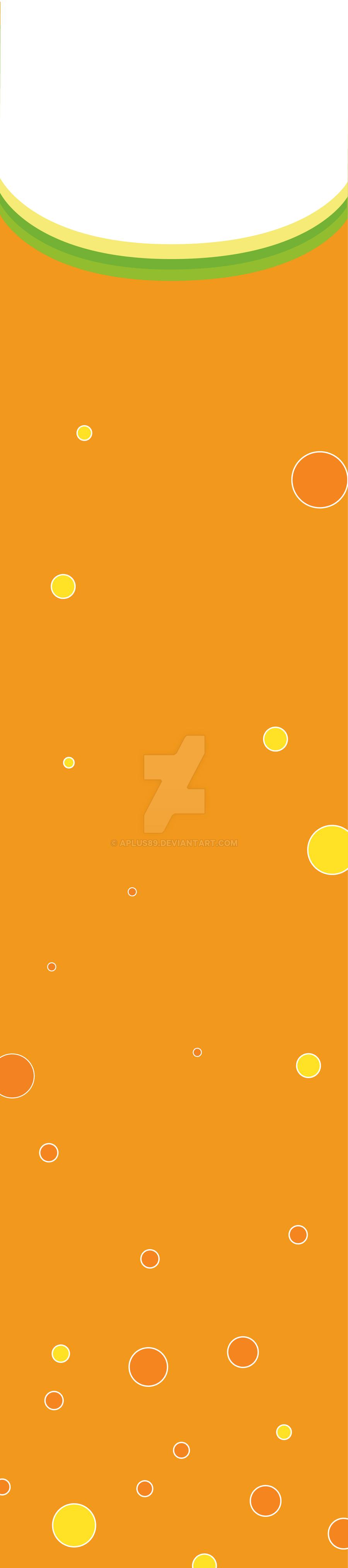 Vertical Banner Beverage (Orange) by aplus89 on DeviantArt