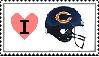 Chicago Bears Stamp by PhantomFraggmentor
