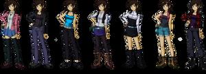 Yu-Gi-Oh! OC Outfits