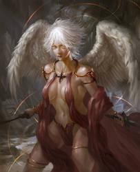 Practice - Angel by arifwijaya