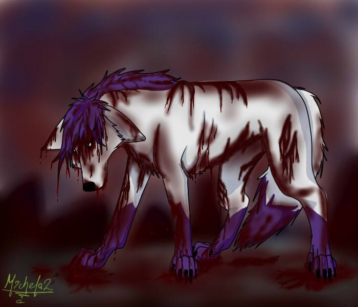 Mis Dibujitos/Miche ^^ Wolf_blood_by_michela2g-d6tu64h
