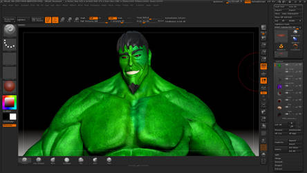 Hulk Stylek 11 @ Zbrush by HardPokers
