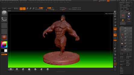 Hulk Stylek 5 @ Zbrush by HardPokers