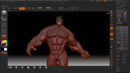 Hulk Stylek 8 @ Zbrush by HardPokers