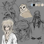 Jareth Doodles by MageMoon