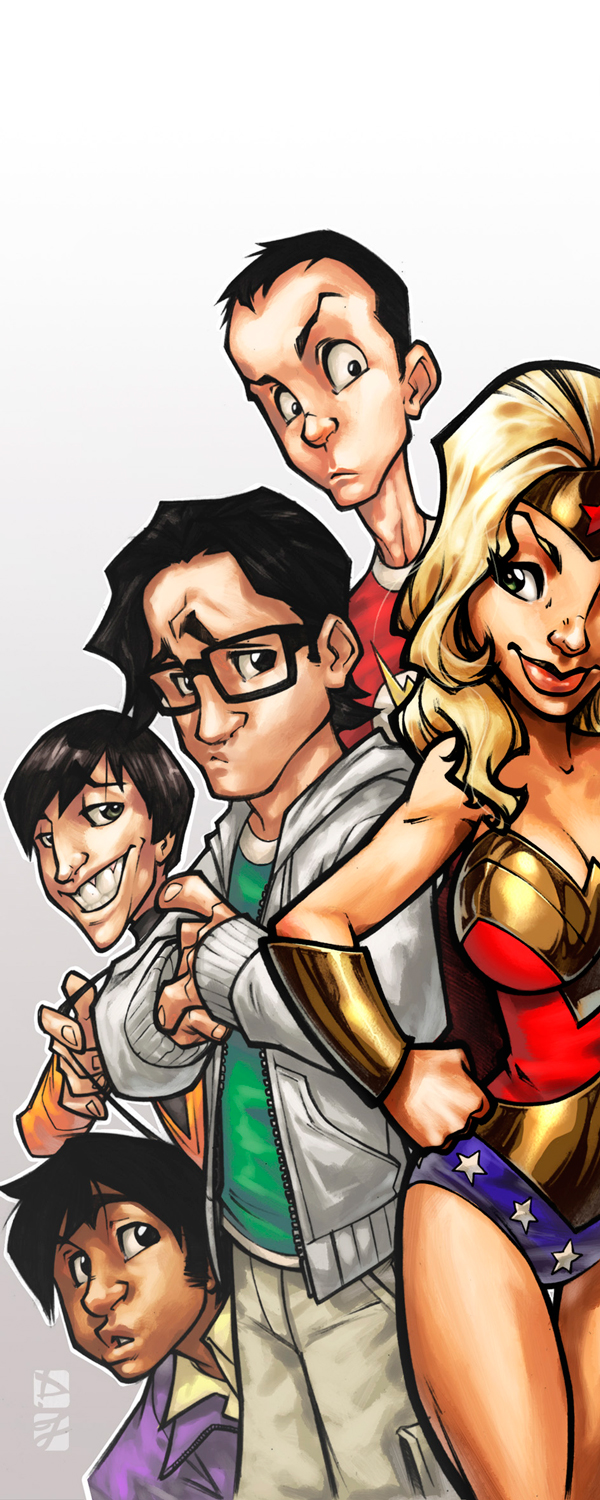 TBBT::Expocomic 2011 Madrid by OneFreeInternet