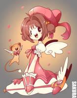 Sakura CardCaptor FanArt by LataeDelan