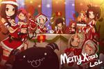 Merry M'Xas League of Legends PratyGirl